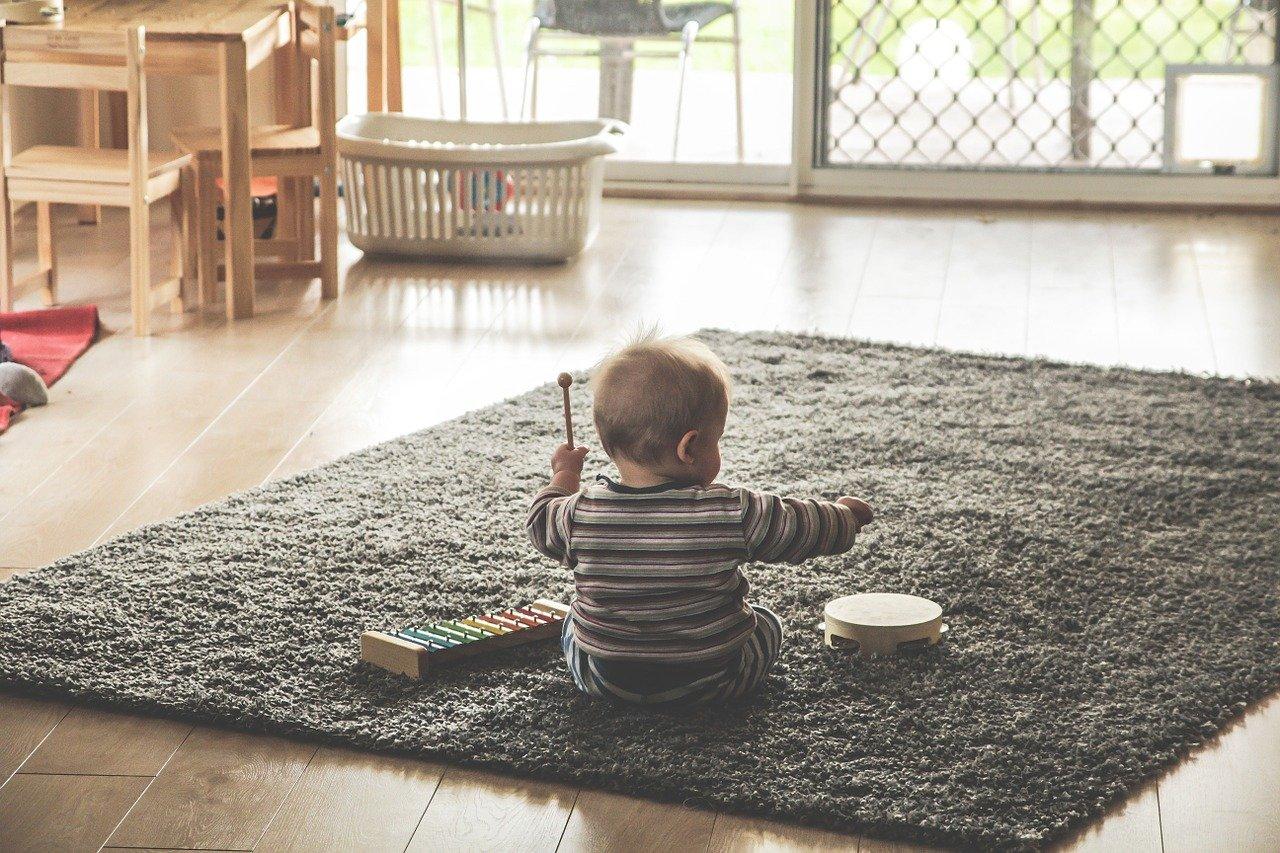 bakat musik anak