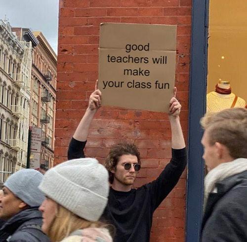 cardboard guy meme